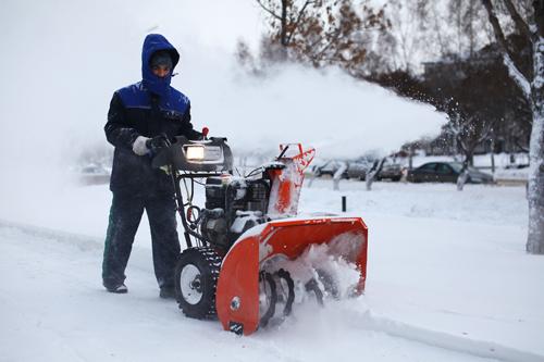Снегоуборочная техника представлена