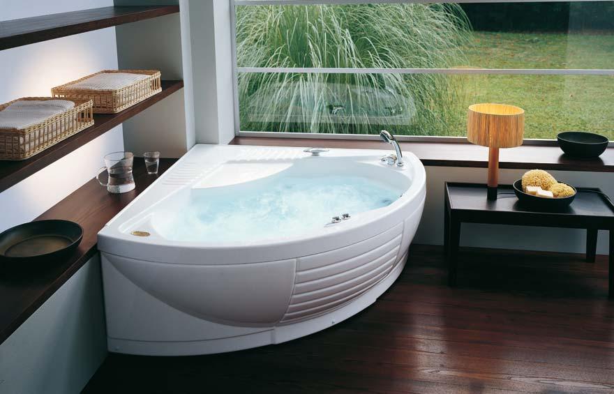 Джакузи и ванны размеры и