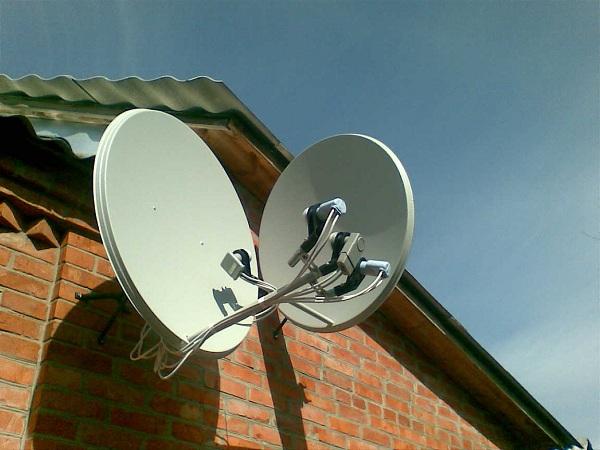 Антенна для спутникового тв своими руками