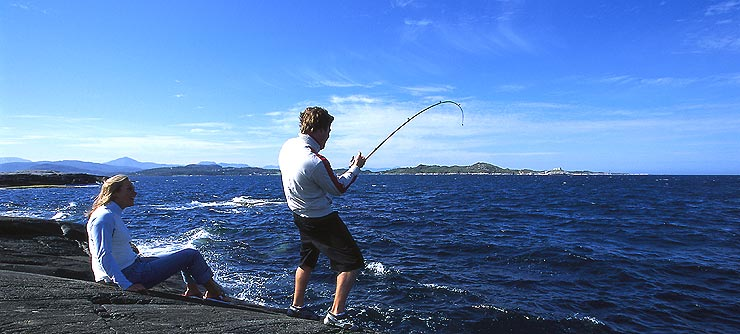 картинки рыбалка на берегу моря