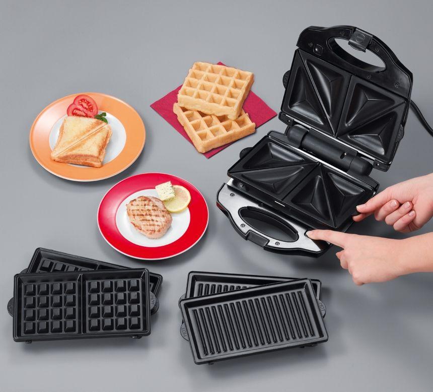 Сэндвич-тостер Clatronic