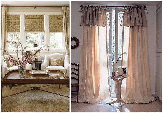 Варианты оформления окон шторы фото интерьер