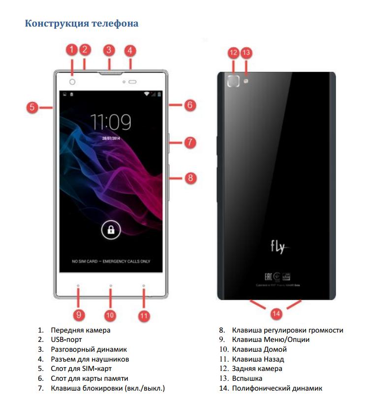Обзор смартфона Fly IQ4511 Tornado One Octa - читайте на