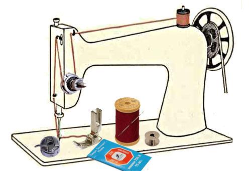 электрических швейных