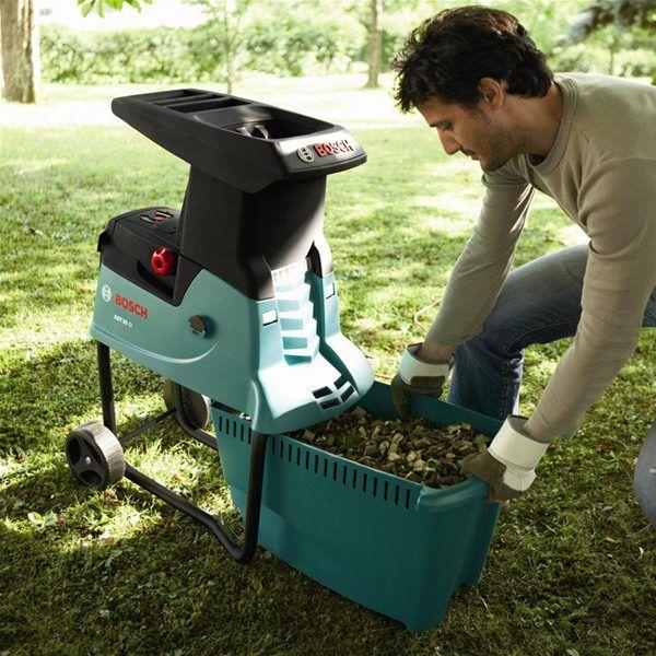 Садовый измельчитель для травы своими руками видео