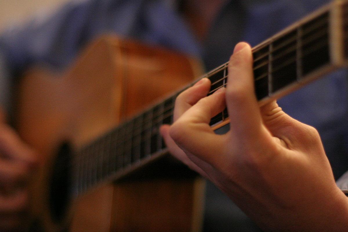 Гитара с нуля схема