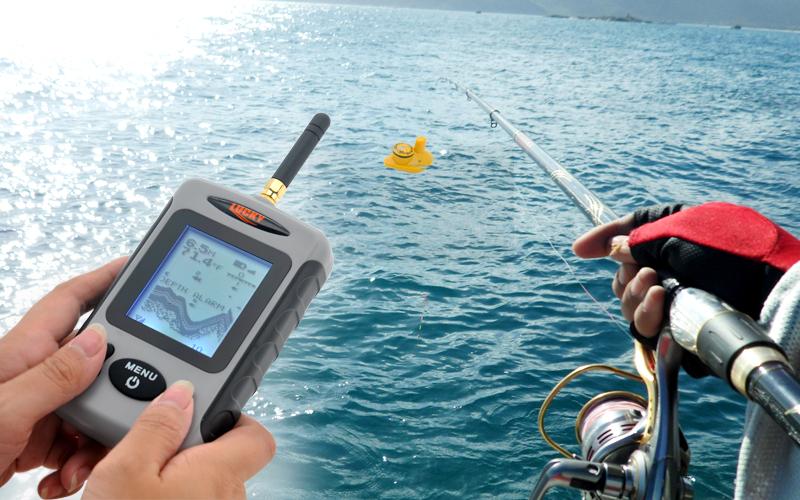 глубиномеры для рыбалки с берега