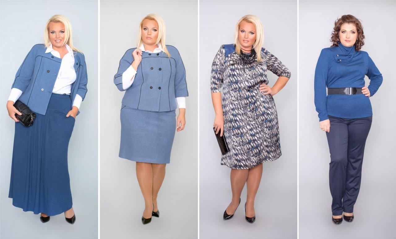 da02fb3b5459c2b Как подобрать практичную или нарядную одежду для полной женщины?