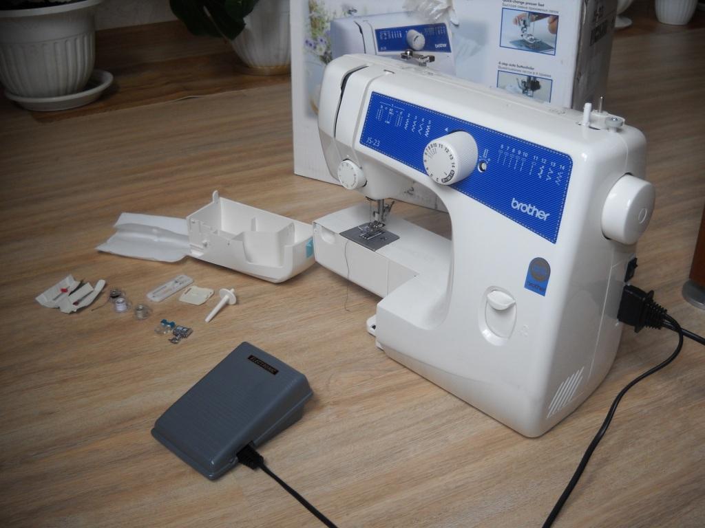 швейная машинка brother js 23 инструкция
