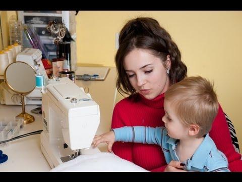 Как научить ребенка шить на швейной машинке