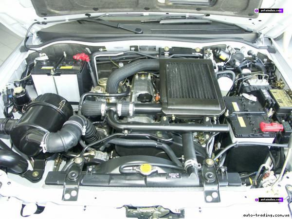митсубиси паджеро фото двигателя