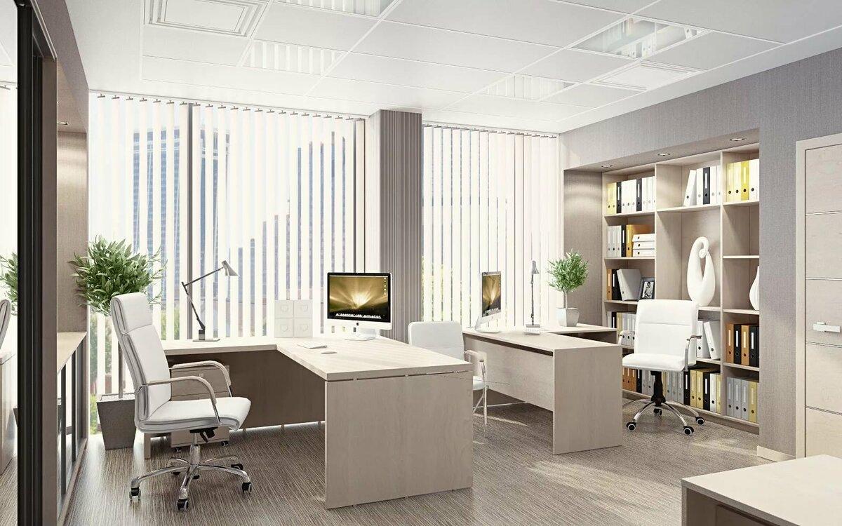 Einrichtung eines kleinen Büros