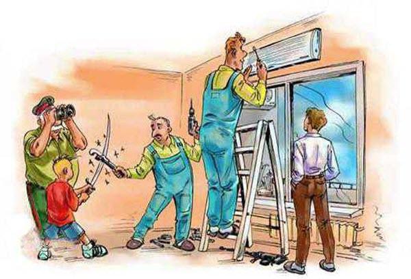 """Монтаж и установка кондиционеров своими руками несмотря на то, что """" Комитет по строительству, строительство дачных домов."""